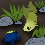 Kwiwi meets a Leetle