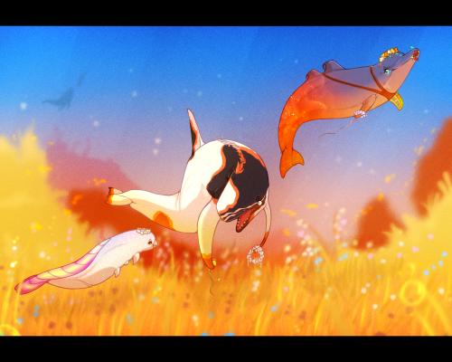 Lua's Love Day - Flower Field