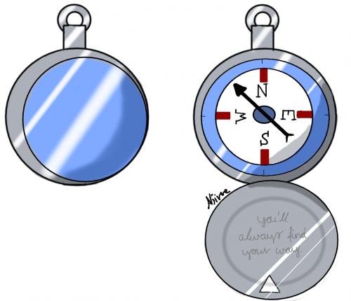 Moon compass (Talisman)
