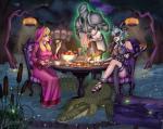 Spooky Tea Party (Commission)