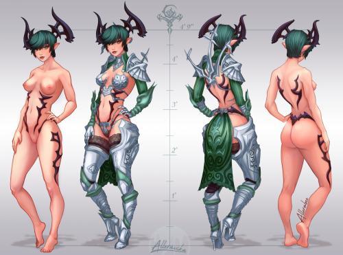 Athena Character Sheet (Commis