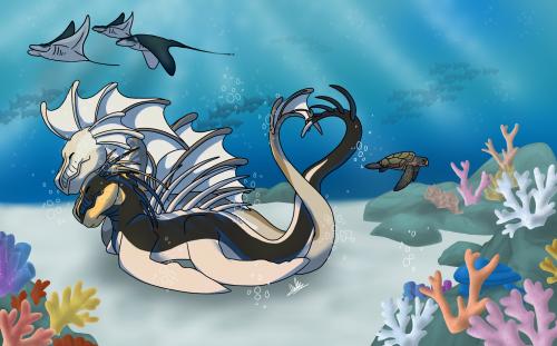 [DoA] Lovebirds...Dragons