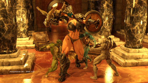 Goblin attack 1D