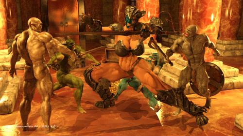 Goblin attack 1E