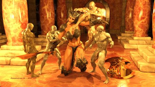 Goblin attack 1F