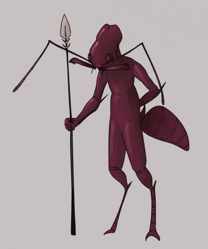 Trapjaw Humanoid Ant