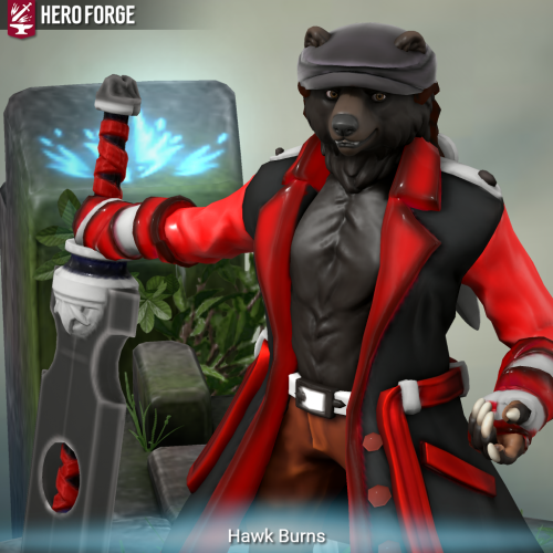 Hawk Burns, Retired Captain