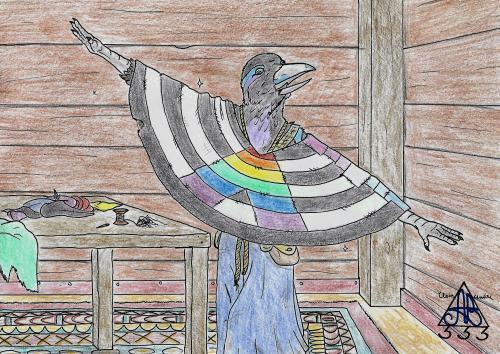 Pride poncho