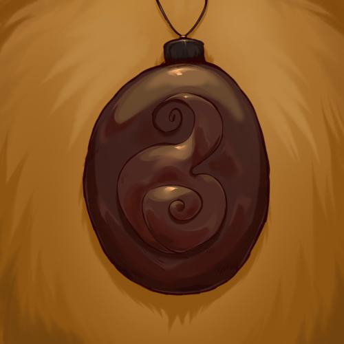 Character's talisman.