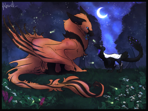Firefly scavenging