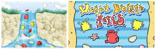Water Bottle Falls (+GAME!)