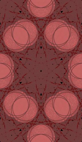 Tiled Pattern - Pinkish Geometric