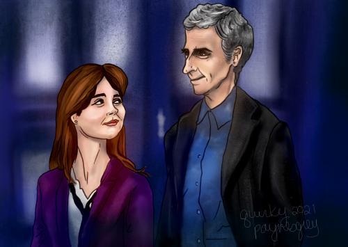 Doctor Who - Clara x Twelve