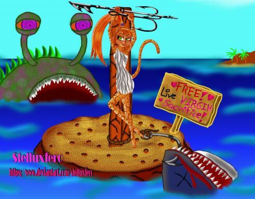 Itzel Xiao - summer hobbies - fishing and swimming
