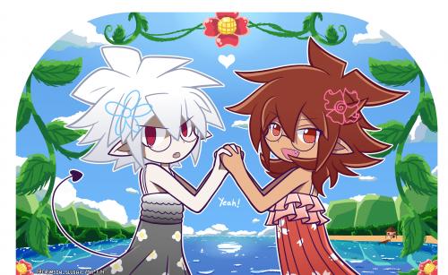 Holding hands (ver. 1)