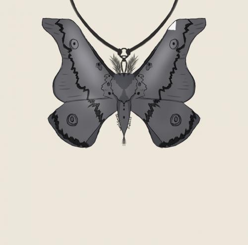 Moth talisman