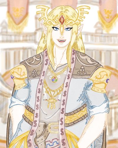 Genderbent Zelda