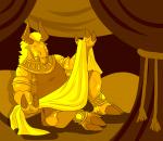 Glittering in Gold - Character Development