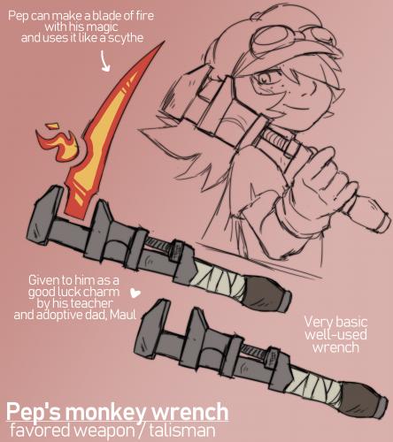 Pep's Monkey Wrench