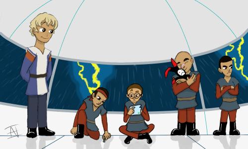 Omega's Little Bros