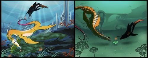 Atlantis and Sunken Heads