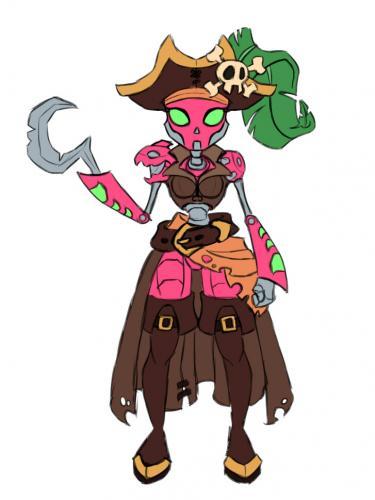 Robot Pirate Concept