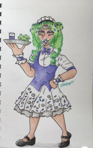 Monster Cake Maid