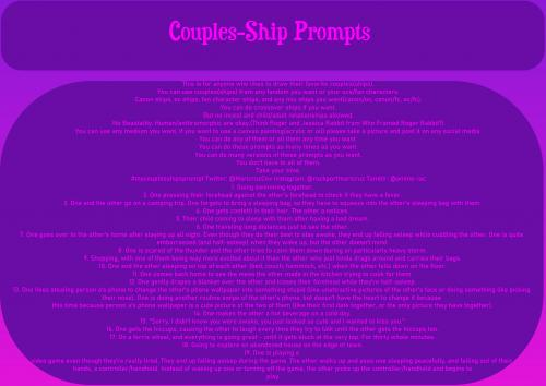 Couple-Ship Prompts