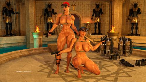 Discovering Anubis temple 3E
