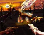 Nightmare Boss - Forest Fire