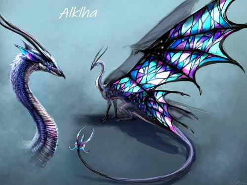 Alklha Character Design