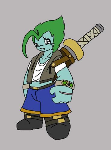 Enter a New Character: Voom Frelldom