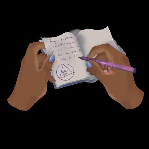 Talisman; journaling