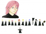 Marluxia + sprites