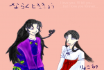 Naraku to Kikyou Heart