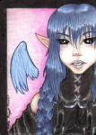 Alaster ACEO Card