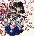 Sailor Saturn and Minimoon