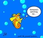 Freddy the Paranoid Seahorse