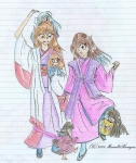 Kirin and Julia-chan
