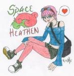 SpaceHeathen - gaia character