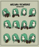 Arcana - Expression Page