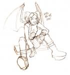 Alex Maquette Sketch