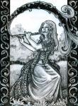 Spirits of Music - The Flute by Minimaid