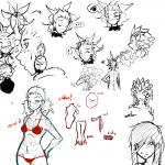 Ayda - Concept Sketches