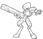 Myr Fire Warrior