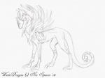 Sketch: Winter Dragon