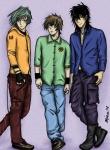 Amatsuki Trio