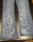 Denim - Stars and Swirls