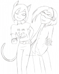 We are POP'N MUSIC 2! - Mutsuki and Kwell! - WIP