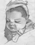 Baby Portrait- Noah by saphira